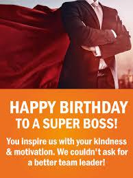 to a super boss happy birthday wishes card birthday u0026 greeting