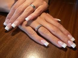 gel vs acrylic nails french manicure nail art ideas