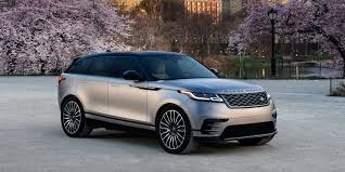 land rover velar vs discovery 2018 land rover range rover velar vehicles on display