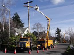 seattle city light login seattle city light workmen replace an aging utility pole editorial