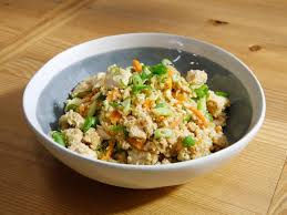 rice cuisine chicken cauliflower fried rice recipe food