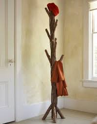 Muji Coat Tree by Furniture Wooden Standing Coat Rack With Many Hooks