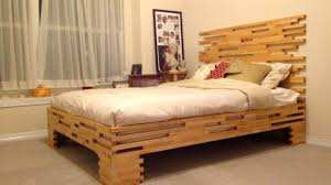 new 50 wood bed ideas 2016 unique bed frame design youtube