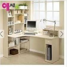 Desktop Computer Desk Study Table Computer Desk With Book Case White Trade Me