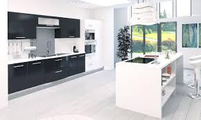 modele cuisine blanche modele cuisine noir et blanc modele carrelage salle de con
