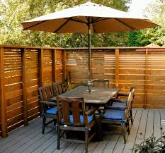 deck fencing ideas house design and planning