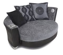 sofas with built in speakers and ipod dock are getting really