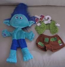 build a unstuffed new build a trolls tc branch babw unstuffed plush stuffed