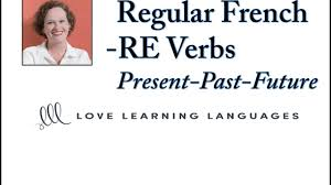French Er Ir Re Verbs Worksheets Regular French Re Verbs Love Learning Languages