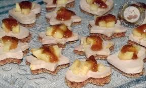 canap foie gras de jolis toasts au foie gras d épices pommes et figues