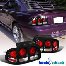 1994 mustang tail lights 1994 mustang black tail lights ebay