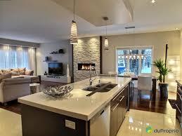 pieds cuisine finition haut de gamme foyer au gaz plafonds 9 pieds cuisine au