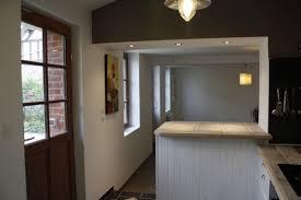 ouverture cuisine sur salon ouverture mur cuisine salon idées de design suezl com