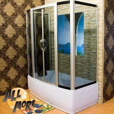 chiusura vasca da bagno all more it vasca da bagno con chiusura in vetro trasperente 170x90