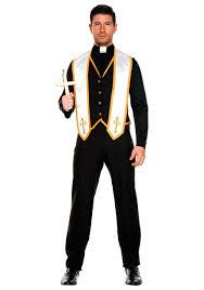 high priest costume men s bad habit priest costume