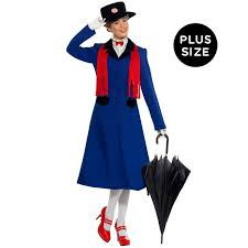 clearance plus size halloween costumes mary poppins plus costume buycostumes com