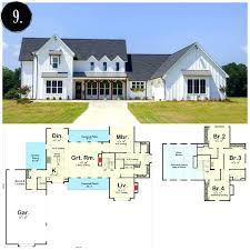 farmhouse floorplans plan house modern modern 3 bedroom house plans house plan more 3