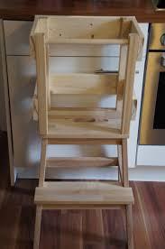 stehhilfe küche glücksflügel bauanleitung für einen learning tower lernturm aus