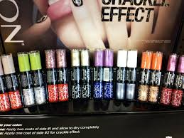 spotted in store revlon nail art break up crackle effect nail