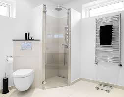 bathroom marvelous wet room design in modern decor using glass