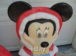 34 disney mickey minnie mouse lighted outdoor