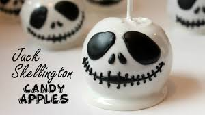 jack skeleton halloween jack skellington candy apples youtube