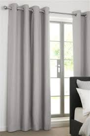 cotton curtains cotton blackout u0026 lined eyelet curtains next