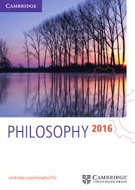 philosophy catalogue 2016 by cambridge university press issuu