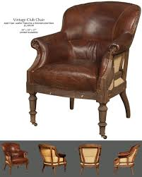 old world accent chair vintage club