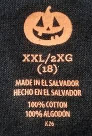 glow in the dark l skeleton glow in the dark l s t shirt sz xxl 2xg 18 new with tags