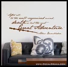 products decal drama after all to the well organized mind death is but the next great adventure