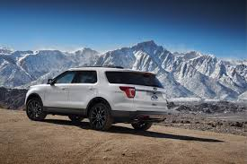 Ford Explorer Blacked Out - 2017 ford explorer xlt sport revealed ford authority