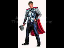 Heisenberg Halloween Costume Avengers Movie Thor Muscle Halloween Party Costume