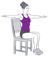 Desk Chair Workout 9 Exercises You Can Do While Sitting Down Prevention