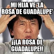 Rosa De Guadalupe Meme - meme jackie chan mi hija ve la rosa de guadalupe la rosa de