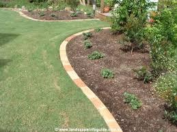 Backyard Ideas Pictures 25 Unique Brick Garden Edging Ideas On Pinterest Lawn Edging