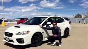 subaru sti 2016 white what comes with the subaru impreza wrx sport package youtube