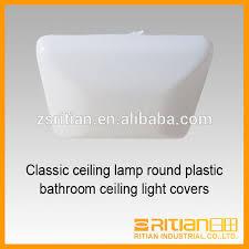 classic ceiling lamp square plastic bathroom ceiling light covers