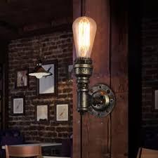 rustic wall sconce lighting 2018 loft vintage rustic wall ls classic wall sconce wall light