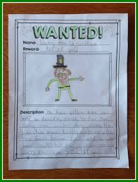 st patricks day writing paper st patrick s day writing freebie a classroom for all seasons