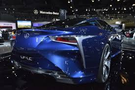 lexus lf lc performance lexus lf lc and lf cc on display at the la auto show which one do