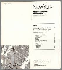 Midtown Manhattan Map Title Page Map Of Midtown Manhattan In Detailed Axonometric
