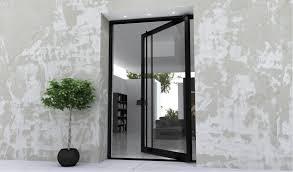 Glass Exterior Door Glass Exterior Door Home Design Plan