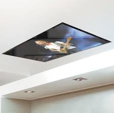 Ceiling Mounted Tv by Tv Mounted In Or On Ceiling Is Perfect For Dentist And