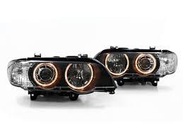 bmw x5 headlights 00 03 bmw e53 x5 eye projector headlights black ebay