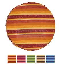 cuscini rotondi colorado cuscino coprisedia rotondo con fascia elastica casatessile