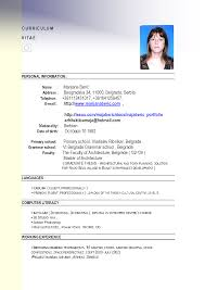 Job Resume Format 2015 by Resume Format Malaysia Job Application Augustais