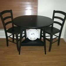 small black round table round kitchen table and chairs set black round dining table and