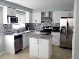 Kitchen Appliance Cabinet Grey Kitchen Cabinets With White Appliances Best Home Decor