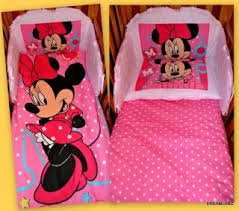 Crib Bedding Set Minnie Mouse Minnie Mouse Crib Bedding Set For Baby Personalizable Style